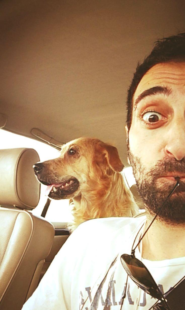 Chilling around #biancathedog #goldenretriever #mylove