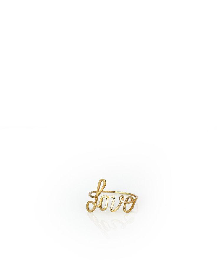 Custom Cursive Word Ring – Devin Krista Jewelry Noorie
