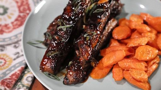 Brown Sugar Bourbon Barbecue Ribs