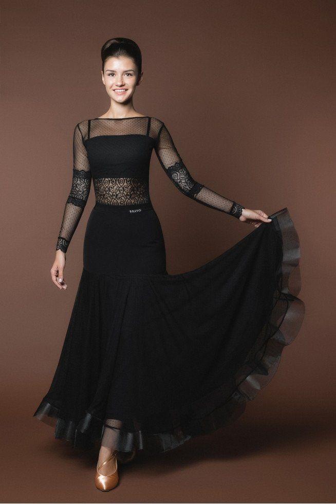Ballroom Skirt with Crinoline B08