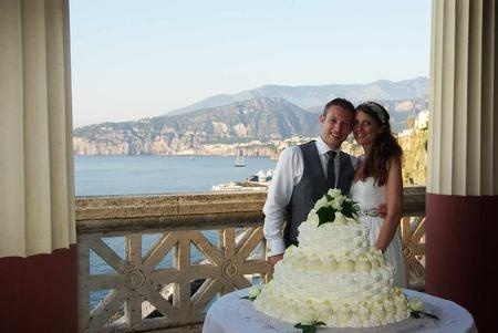 Villa pompeana wedding