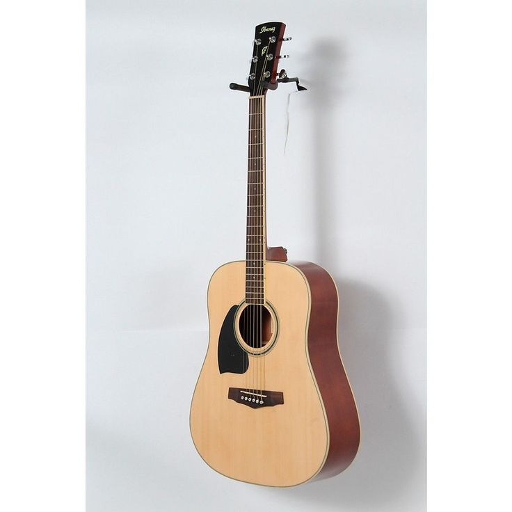 Ibanez Performance Series PF15 Left Handed Dreadnought Acoustic Guitar Natural 888366024133