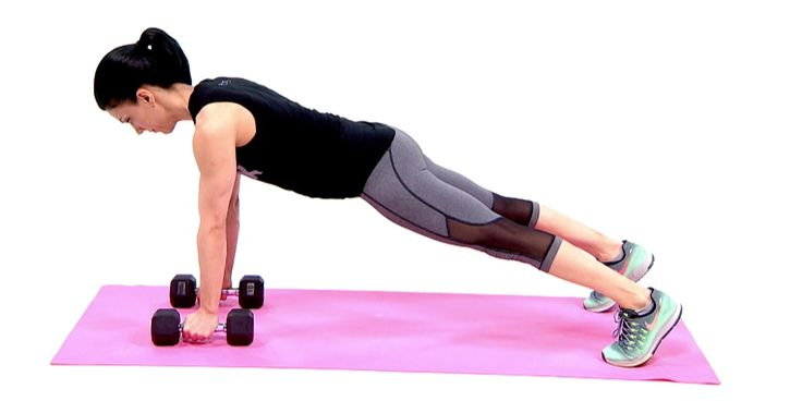 Just because dumbbells are a classic doesn't mean theycan't do a stellar job of sculpting and toning. This video shows you how to do five dumbbell exercises that will leave you sore (in a good way) the next day.