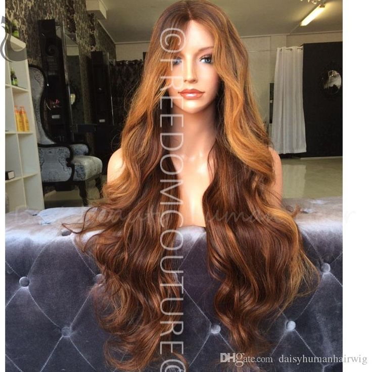Wholesale Ombre Lace Wig Wavy 4 4silk Top Full Lace Wigs