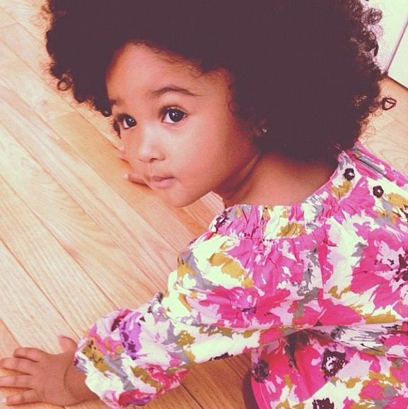 Natural curly hair Cutie