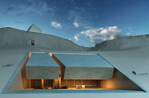 """En la categoría de """"Proyectos Futuros de Casas"""", el ganador es la Casa de Meditación, por los arquitectos de Líbano MZ Architects."""