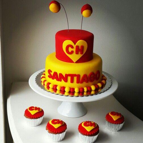 Chapulin Colorado cake by @eva_ks