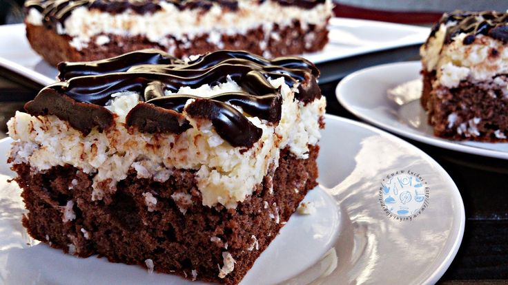 Ewa w kuchni: Ciasto czekoladowo - kokosowe