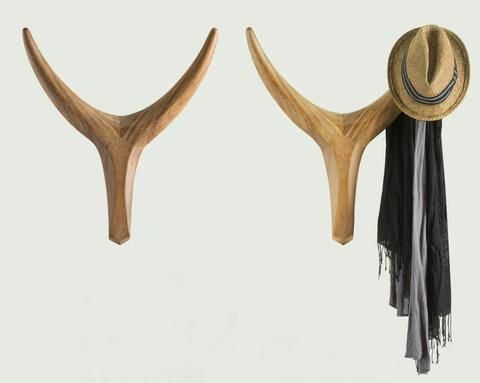 Nguni Head    Nguni horns have long been African symbols of sustainability and abundance. Bring these beautiful forms into your home as wall sculptures or welcoming hallway coat hooks.