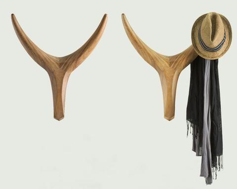 Nguni Head Coat Hooks, Vogel Living Design, Cape town