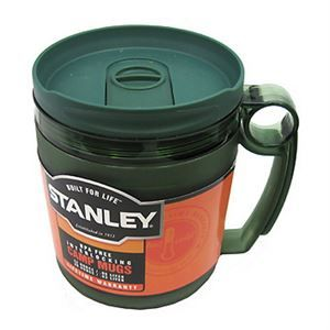 Engineered for the true outdoor enthusiast Stanley's Interlocking Camp Mugs are an essential camp item. Cup and mug interlock for easy packing. Inner mug's volume markings double as a measuring cup. Make pancakes and have enough to share with the 28oz and 32oz capacity. All Stanley products are backed by a lifetime guarantee.