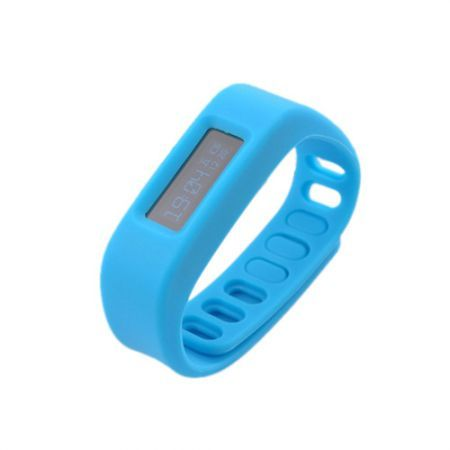 "SH01-2.1 1.7"" LCD Bluetooth V2.1 Intelligent Health Bracelet Motion Record / Sleep Monitor / Stopwatch - Blue"