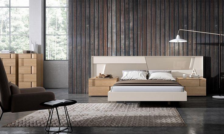 Textura de madera entrelazada que parece un tejido natural conforma esta composición de #GRÁFIKA creada por #MueblesMesegue