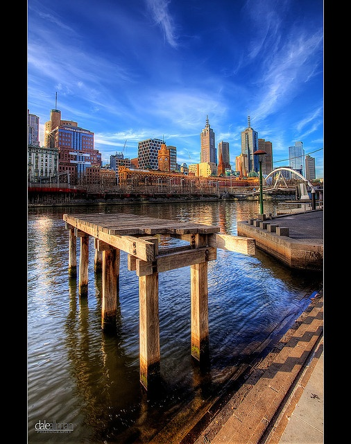 Old Pier on The Yarra - HDR by Dale Allman, via Flickr