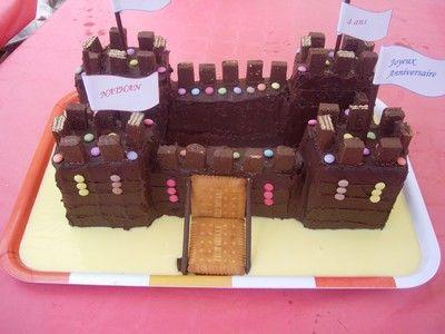 Image de la recette Château d'anniversaire en chocolat
