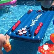 floating beer pong table for the pool? yes, please.