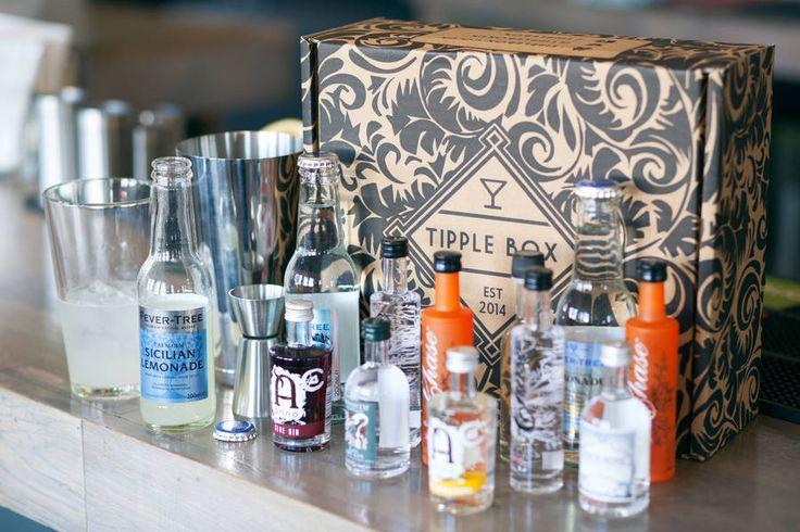 'Tipple Box' Gin Cocktail Kit, £27.95, notonthehighstreet.com