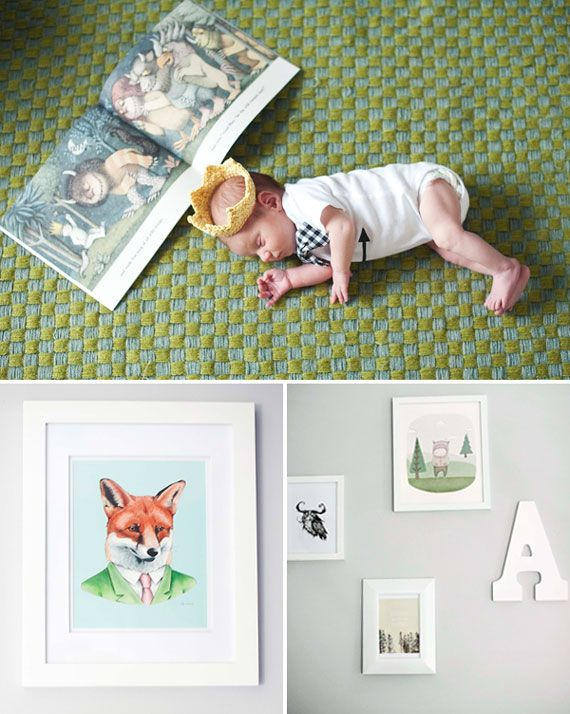 Where The Wild Things Are Nursery Spearmint Baby