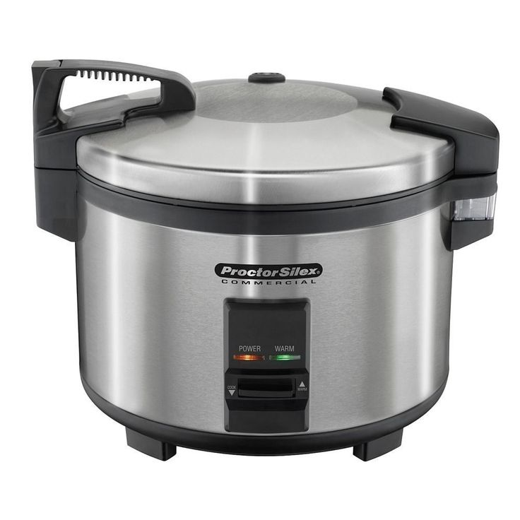 Commercial Rice Cooker Warmer 40 Cup Cooked Electric Automatic Stainless Steel  #HamiltonBeach