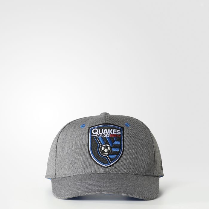 adidas San Jose Earthquakes Structured Hat - Mens Soccer Hats