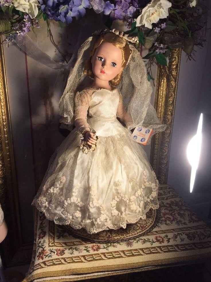 ~ Beautiful!! H.P. Madame Alexander Wendy Bride ... All Orig. Needs Some TLC ~