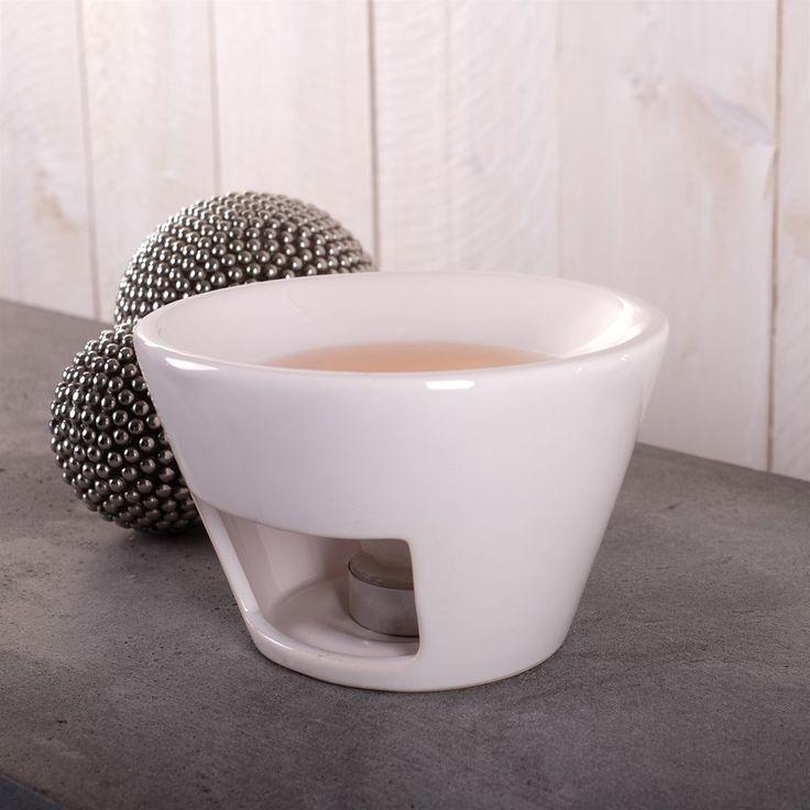 DESIGN AROMABRENNER  PETIT JOUR  | weiß, Keramik | Duftlampe, Kerzenhalter