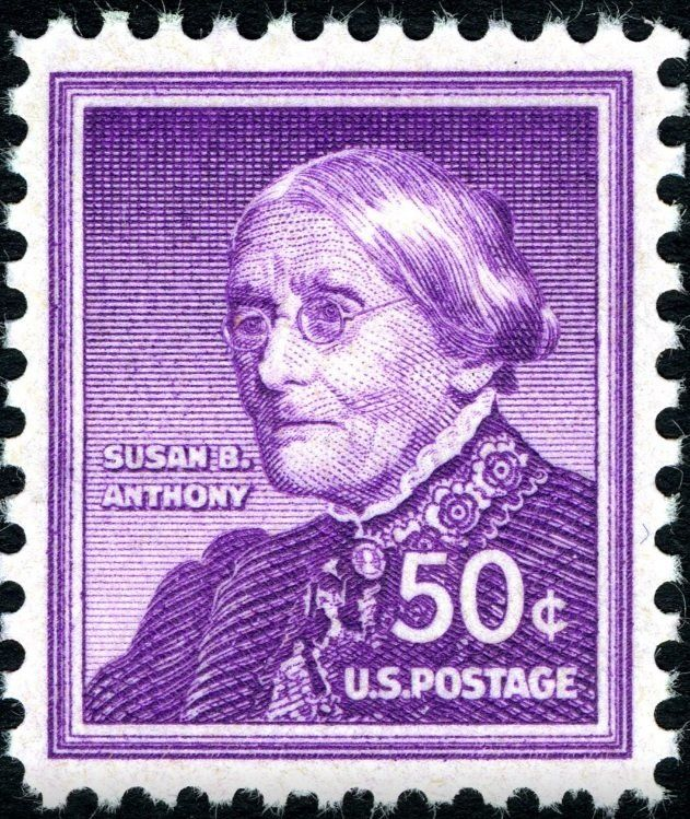 Stamp: Susan B. Anthony (1820-1906), Women's rights activist (United States of America) (Liberty Issue) Mi:US 673A,Sn:US 1051,Yt:US 604