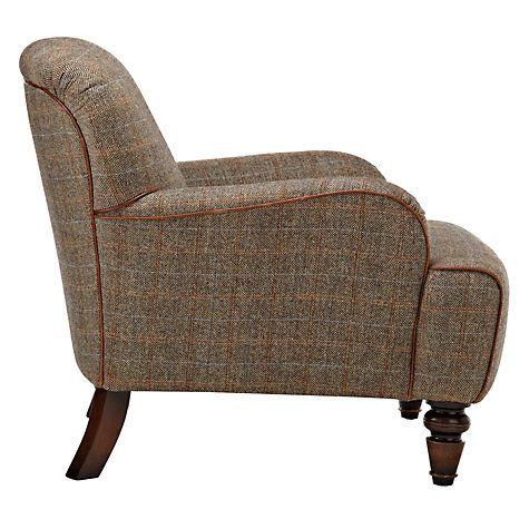 JL tweed armchair
