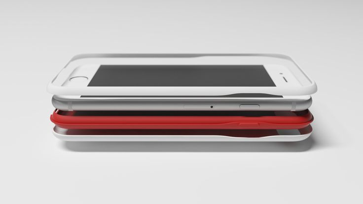 iphone7 case_simple red line