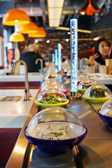 YO! Sushi, Waterloo Station, London