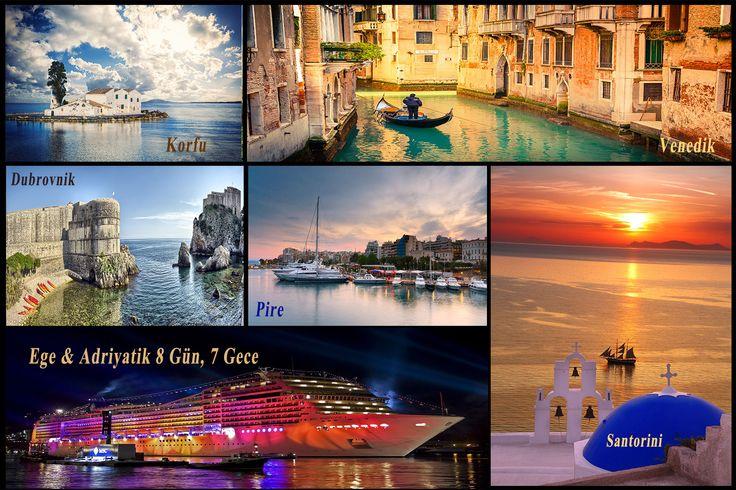 İtalya'nın ada şehri Venedik, yaklaşık 118 adacık üzerine kurulu. Kuzey İtalya'nın doğusunda, Adriyatik Denizi'nin kuzey kıyılarındaki bu tarihsel şehir, adacıkları birbirinden ayıran 170 kanal ile bunları birbirine bağlayan 400 köprü barındırıyor.    Ege&Adriyatik Turuna Dahil Olan Sadece Bir Şehirden Bahsettik. Daha Fazlasını Görmek İstemez misiniz ?