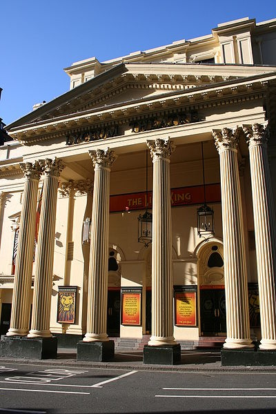 The Lyceum Theatre, London's West End (The Lion King!)