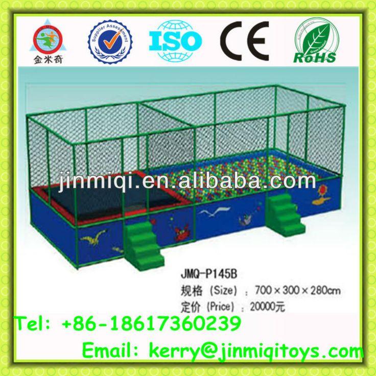 Gymnastic trampolines, kids trampoline/jumping bed, kids indoor trampoline bed JMQ-P145B $3150~$3550