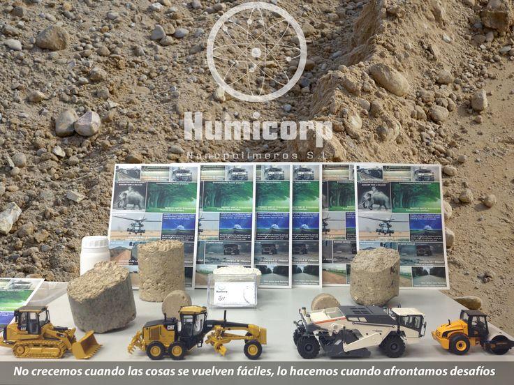 Nuestra gama de aditivos para el suelo.