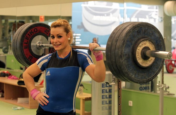 Lidia Valentin, Spanish olympic weightlifter
