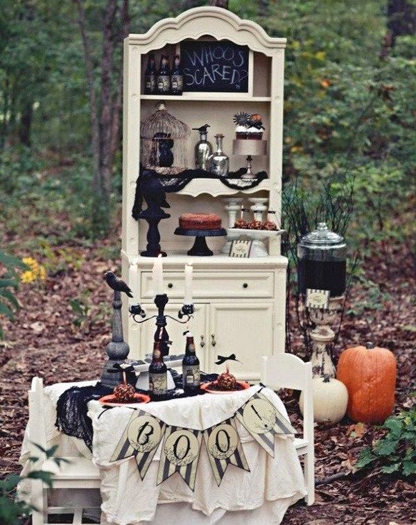 elegant outdoor halloween decorations - Outdoor Halloween Party