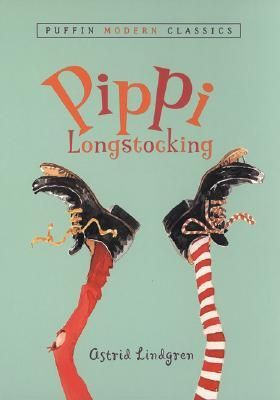 #1 Pippi Longstocking by Astrid Lindgren -- Read c. 1974  -- ★ ★ ★ ★ ★ -- 1001 Books You Must Read Before You Die