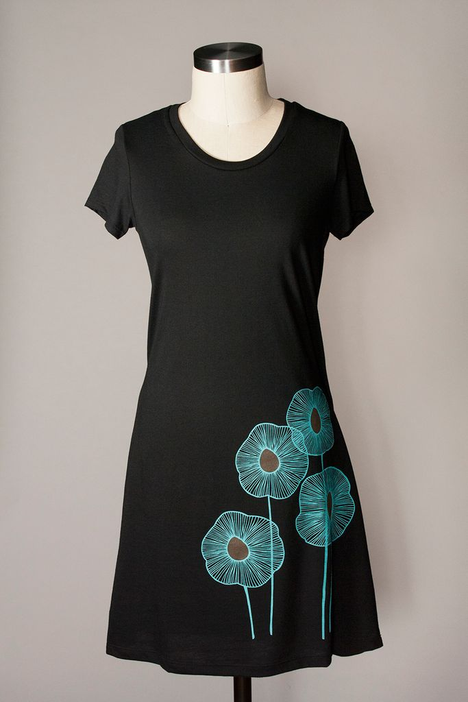 Pineapple Tunic - Black