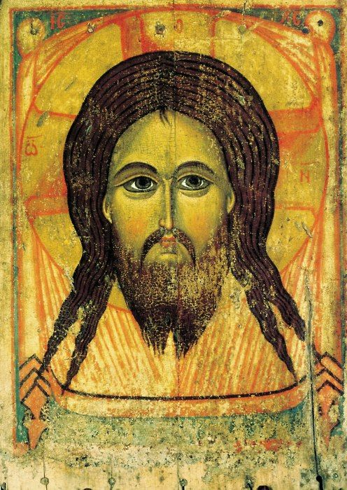 Icon of the Holy Mandylion of Christ (1st half of 13th century)