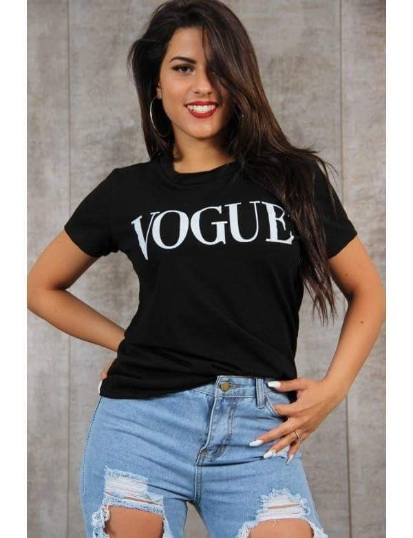 Vogue T-shirt for the sunny days that are coming 😍❤