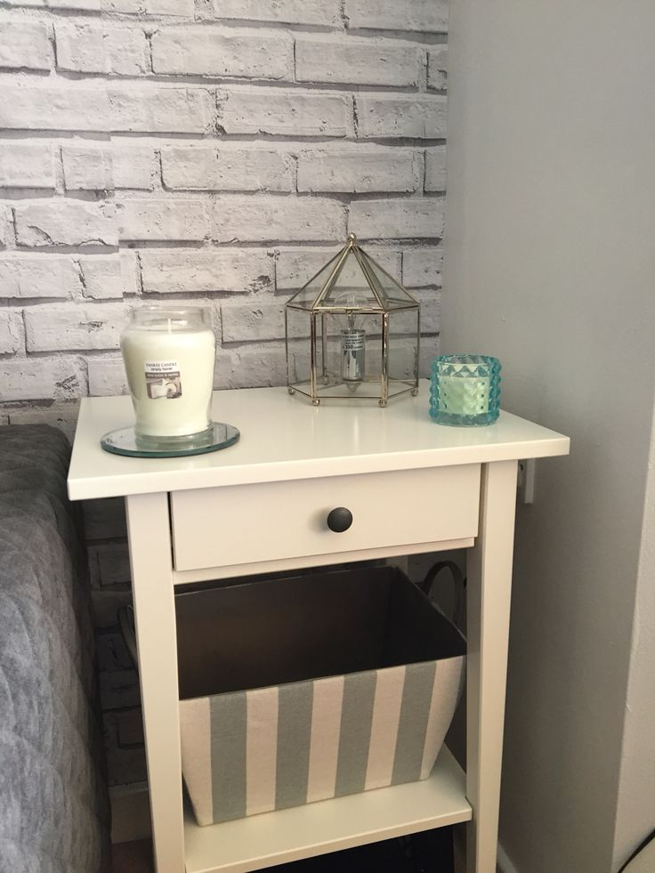 Bedside tables don't always need to be used in the bedroom #livingroom #endtable #ikea