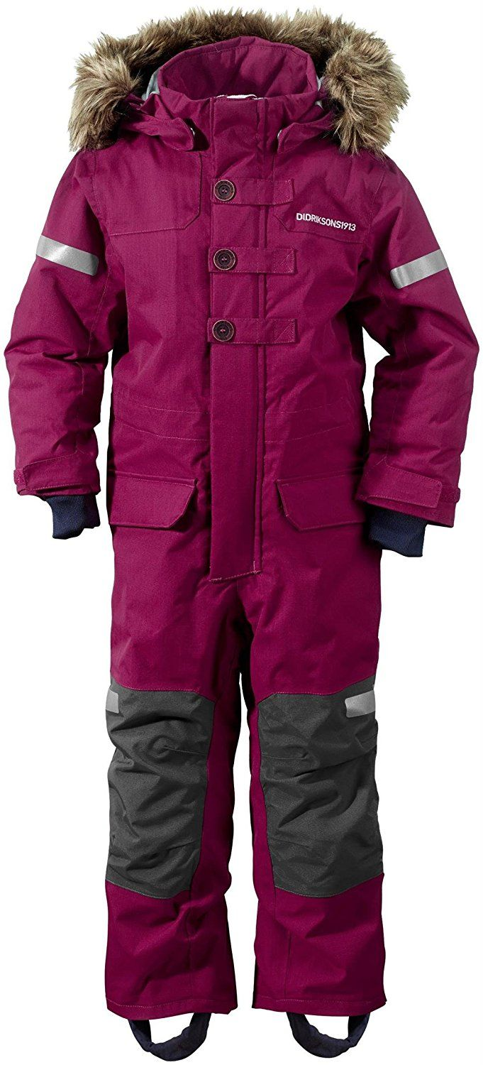 Didriksons Onawa Kids Insulated Coverall: Amazon.co.uk: Clothing