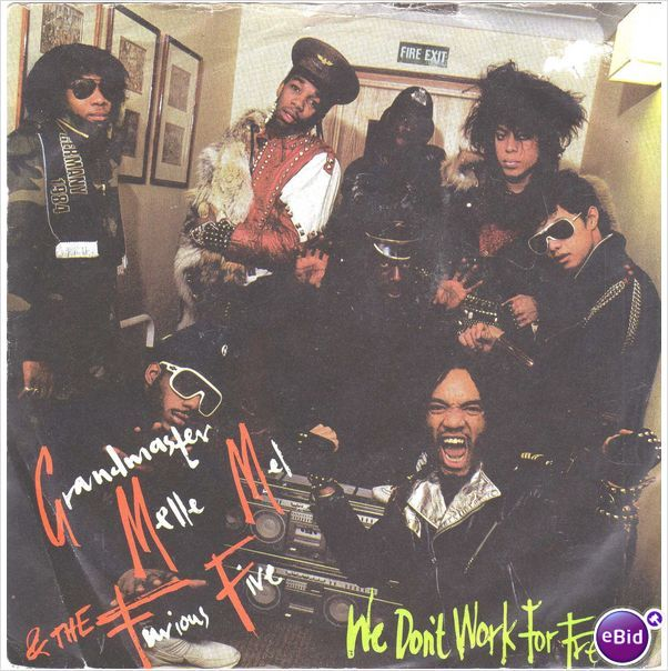 "Grandmaster Melle Mel - We don't work for free 7"" vinyl single record SH736 on eBid United Kingdom"