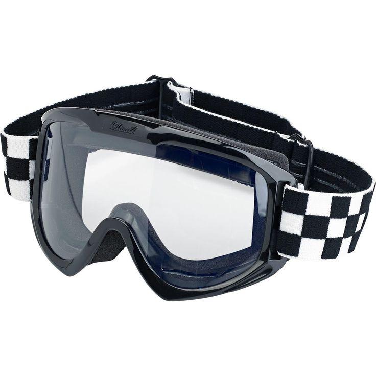 Bitwell - Moto Goggle - Checkers Black