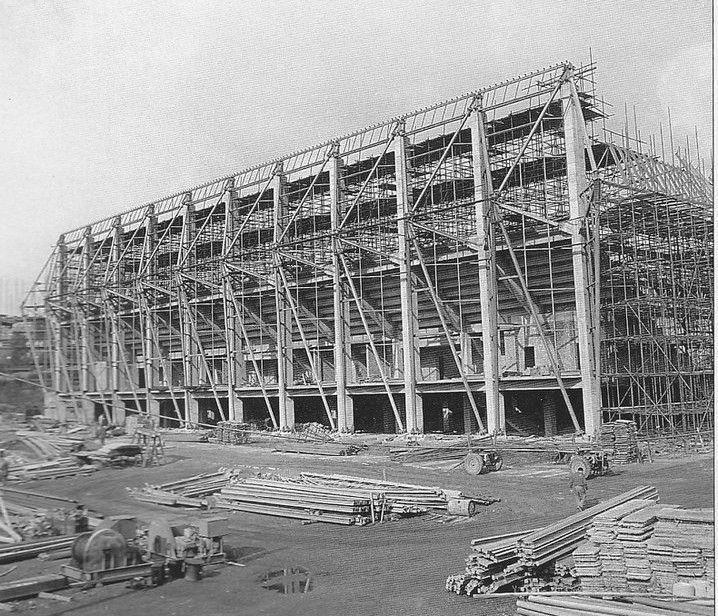 Zimní stadion v Plzni 1968