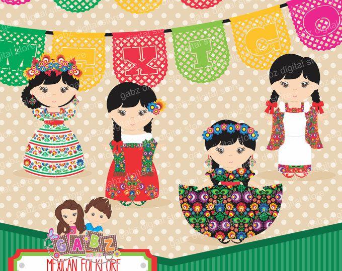 Folklore mexicano, Imágenes Prediseñadas, Azteca, decorativa, Fiesta, mexicana, Viva México
