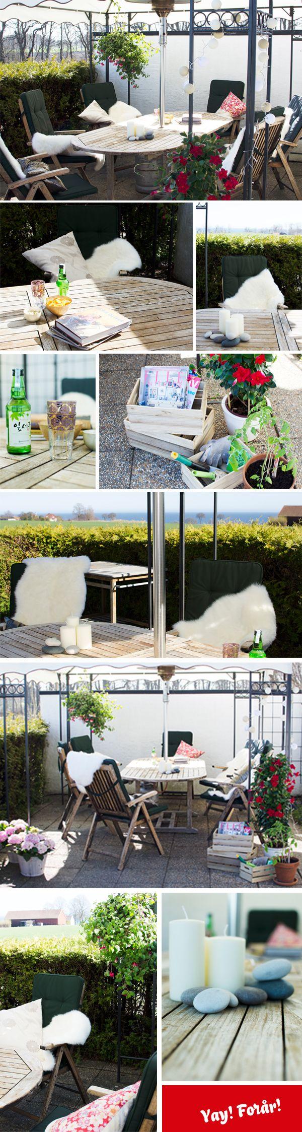 Terrasse med sager fra JYSK – Del 2 - Illustrafils Blog