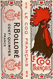 Le Coq Francais 1917 by R Bollore Vintage French Advertising Poster Art Print | eBay