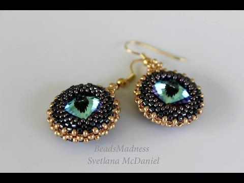手机壳定制womens clothing online  mm Swarovski Rhinestone Cubic RAW and Peyote stitch