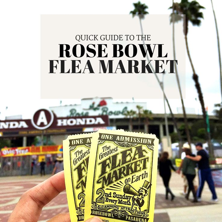 Get ready to ace your thrift shopping trip to the Rose Bowl Flea Market by reading this Quick Guide from Shop Miguez Blog! Happy Hunting